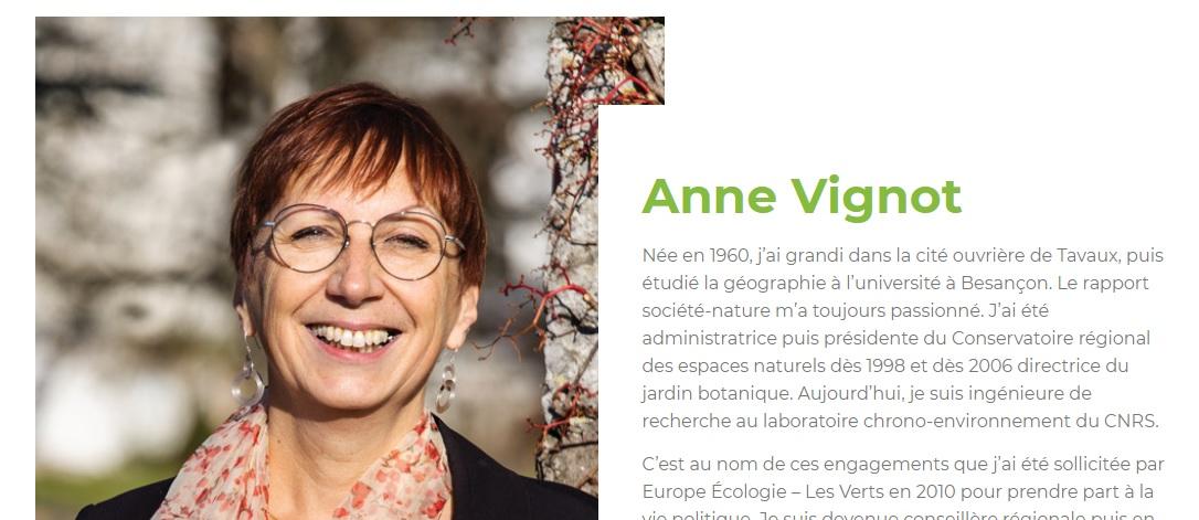 Anne Vignot Besançon